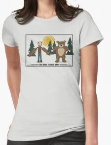 Right To Bear Arms Womens Fitted T-Shirt