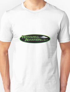 Roswell Aviation Unisex T-Shirt