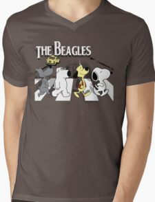 The Beagles 2.0 Mens V-Neck T-Shirt
