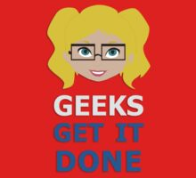 Geeks get it Done One Piece - Short Sleeve