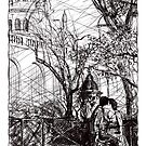 Montmartre 10 by Tatiana Ivchenkova