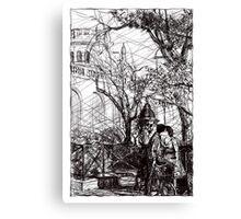 Montmartre 10 Canvas Print