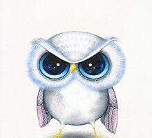Grumpy Bird by Annya Kai