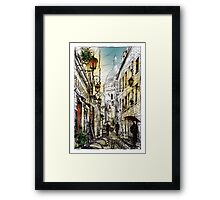 Montmartre 11 in colour Framed Print