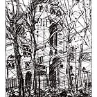 Montmartre 14 by Tatiana Ivchenkova