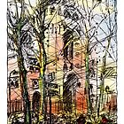 Montmartre 14 in colour by Tatiana Ivchenkova