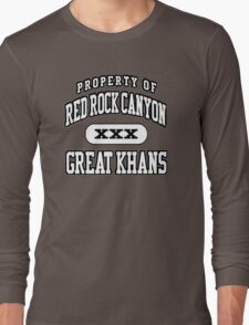 Great Khans Athletic Long Sleeve T-Shirt