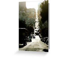 Streets, San Francisco-2 Greeting Card