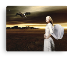 The Wanderer... Canvas Print