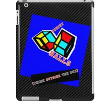 Outside The Box (Cubist Balls) iPad Case/Skin