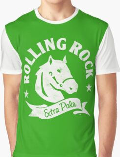 Rolling Rock Logo Graphic T-Shirt