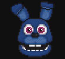 Adventure Bonnie - FNAF World - Pixel Art Kids Tee