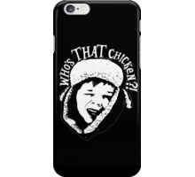 Who's THAT Chicken ?! iPhone Case/Skin