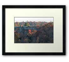 Natural Bridge Closeup, Slade Ky Framed Print
