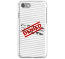 Newtonian Bureaucracy iPhone Case/Skin