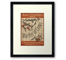 Murder of Crows Framed Print