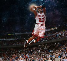 Michael Jordan by azaky