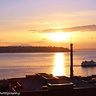 Sunset in Seattle  by Michael Jordan