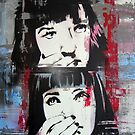 Mia Wallace - Pulp Fiction by Katie Robinson