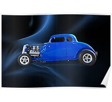 1934 Ford Hi Boy Coupe Poster