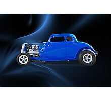 1934 Ford Hi Boy Coupe Photographic Print