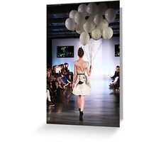 Eco Fashion Week 2013 Greeting Card