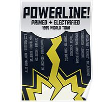 Powerline World Tour Poster