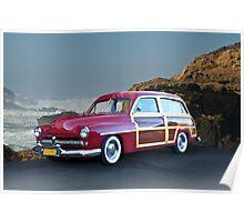 1949 Mercury Woody Wagon Poster