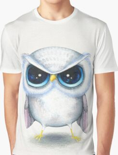 Grumpy Bird Graphic T-Shirt