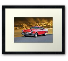 1957 Chevrolet Bel Air Framed Print