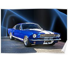 1965 Shelby Mustang Poster