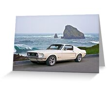1964 Ford Mustang Fastback Greeting Card