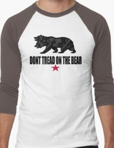 Don't Tread on the Bear Men's Baseball ¾ T-Shirt
