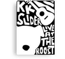 KK Slider Canvas Print