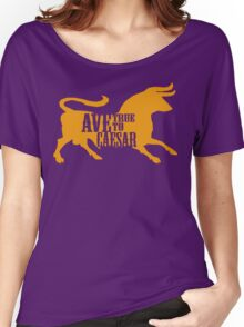 Ave, True to Caesar Women's Relaxed Fit T-Shirt
