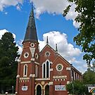 Uniting Church, Bathurst, NSW, Australia by Margaret  Hyde