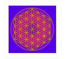 Flower of Life Sacred Geometry Art Print