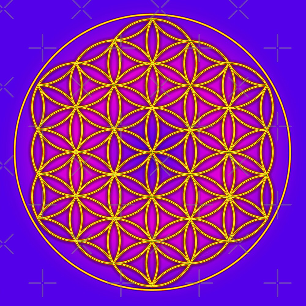 how to draw sacred geometry flower of life
