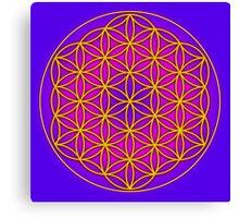 Flower of Life Sacred Geometry Canvas Print