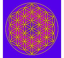 Flower of Life Sacred Geometry Photographic Print