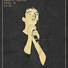 Joy Division Concert Poster by JazzberryBlue