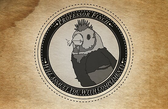 Punk Finch by KitFrench