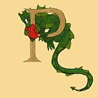 """Oscar and the Roses """"P"""" (Illustrated Alphabet) by Donna Huntriss"""