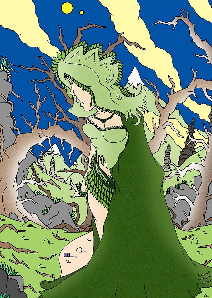 Green genie by Grant Wilson