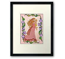Mother and Child - Mother's Day Card Framed Print