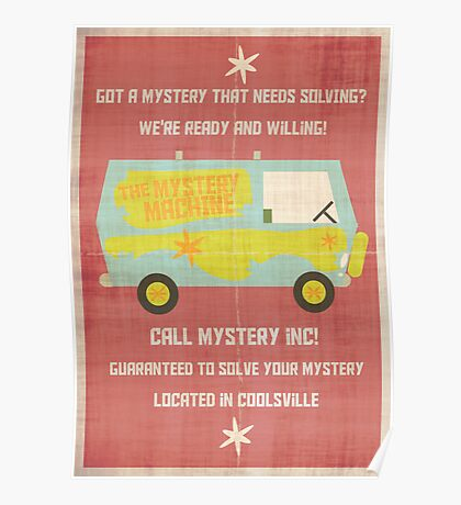 Mystery, Inc Poster