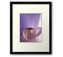 Strike a Light Framed Print