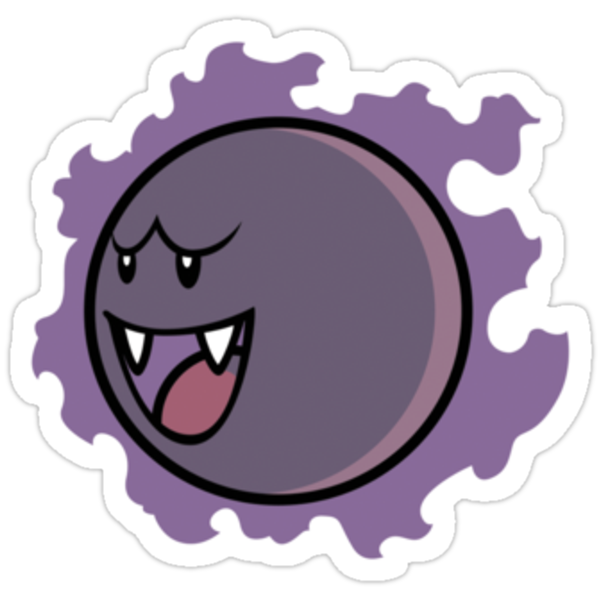PokéBoo Version 1 (Sticker) by thom2maro