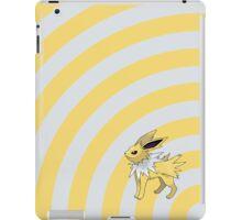Pokemon - Jolteon Circles iPad Case iPad Case/Skin