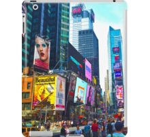 nyc (three) iPad Case/Skin